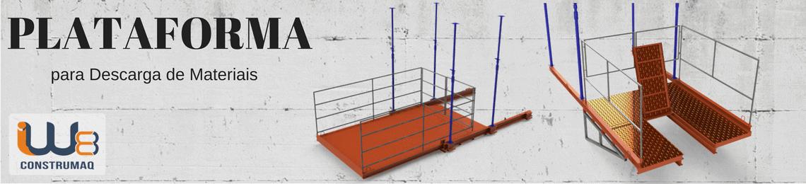 Plataforma para Descarga de Materiais